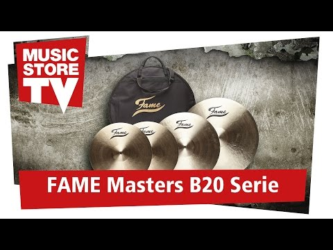 FAME Masters B20 Becken Serie / Cymbal Series Soundcheck