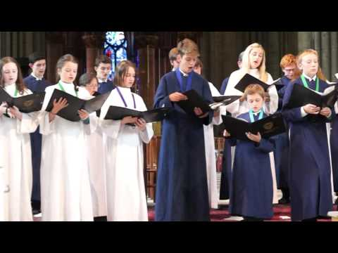St Alphege Church Choir in Reims Notre Dame Cathedral 3 August 2016
