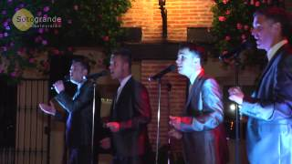 Torreguadiaro Spain  City pictures : The Jersey Boys perform at the new El Pirro Restaurant in Sotogrande Spain - April 2013