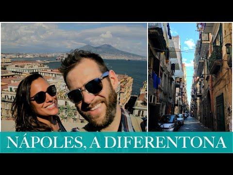 Um passeio relax por Nápoles ITÁLIA  VIAGEM DE MOTORHOME PELA EUROPA - Vlog #98