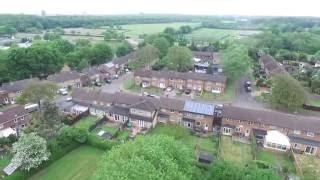 Stevenage United Kingdom  city images : Aerial views of Broadwater Stevenage UK.