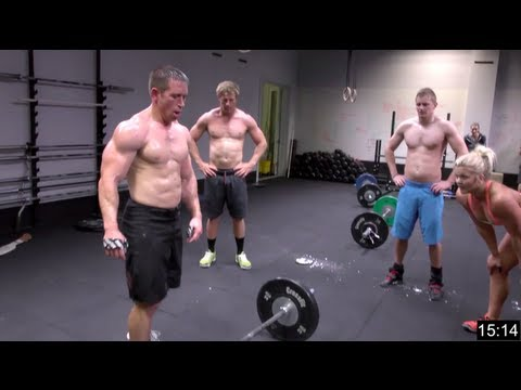 crossfit - CrossFit -- (http://www.crossfit.com) Dan Bailey took on four other athletes in: King Kong Fran Diane Grace Dan performed all four workouts in succession, wh...