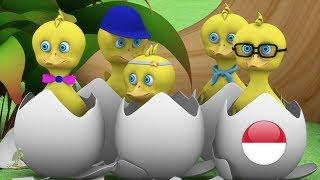 Lima Bebek Kecil   Lagu Anak  kartun anak  lagu anak terpopuler taman kanak-kanak   Little Treehouse