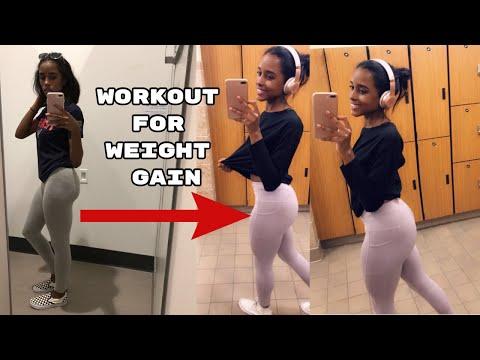 My Workout Routine to GAIN WEIGHT! + Tips | Weight Gain Journey | Beginner Friendly*