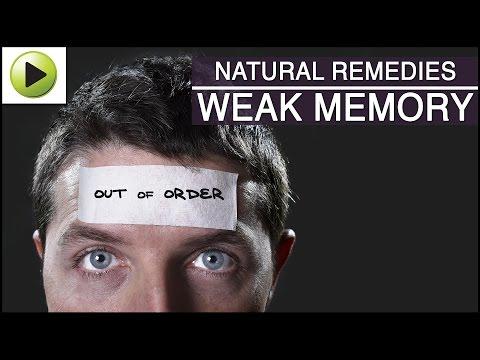 Weak Memory – Natural Ayurvedic Home Remedies