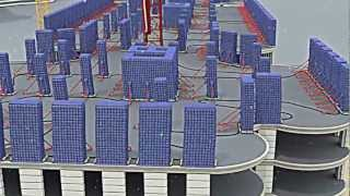 Новая технология. Возведение монолитно-каркасного здания с декоративной наружной отделкой