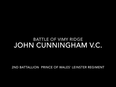 John Cunningham VC an Irish Hero of WW1