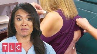 Dr. Lee Examines Barbara's