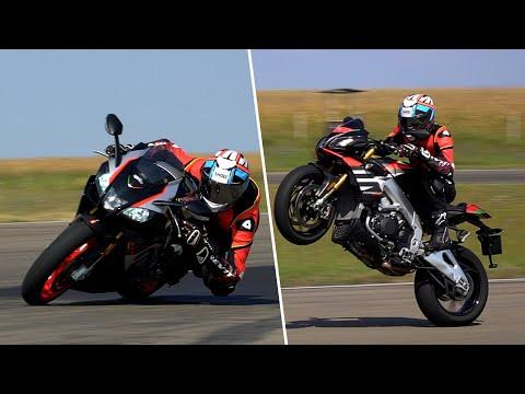 Aprilia Tuono V4 vs. RSV4 RR Review: Which one for the same money?
