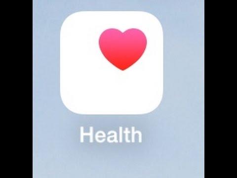iOS iPhone HEALTH APP TUTORIAL