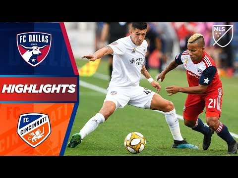 Video: FC Dallas vs. FC Cincinnati | HIGHLIGHTS - September 1, 2019