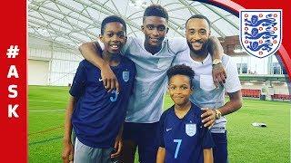 Subscribe to FATV: http://bit.ly/FATVSub Tekkerz Kid aka Lorenzo Greer, headed to St. George's Park to interview England U21...