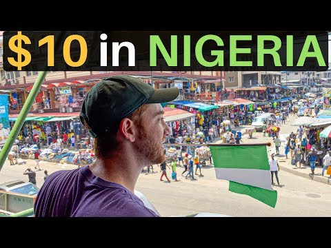 What Can $10 Get in LAGOS, NIGERIA? (craziest city)