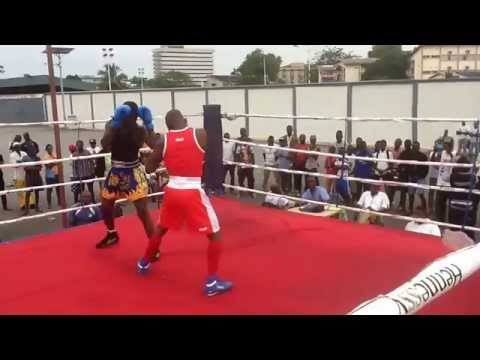 Ghana Boxing Federation Selection Exercise for 2015 All African Games- Azumah Mohammed