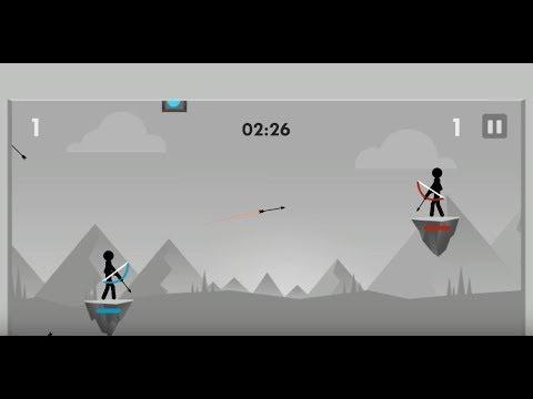 《Stickman Archer Fight》手機遊戲玩法與攻略教學!