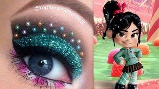 Vanellope Makeup Tutorial - YouTube
