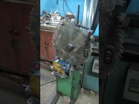 Видео Станок заточной полуавтоматический для дисковых пил