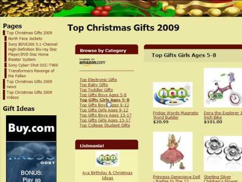2009 Top Christmas Gifts