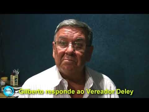 Jales - Gilbertão responde sobre áudio que circulou na internet, onde o Vereador Deley o chama de Vagabundo