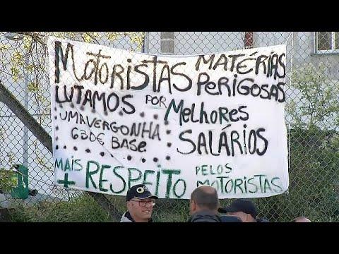 Πορτογαλία: Τέλος στην απεργία των οδηγών βυτιοφόρων