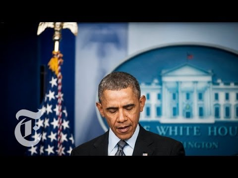 sanctions - President Obama gave an update on American efforts to address the continuing crisis in Ukraine. Read the story here: http://nyti.ms/1njttQ7 Subscribe on YouT...