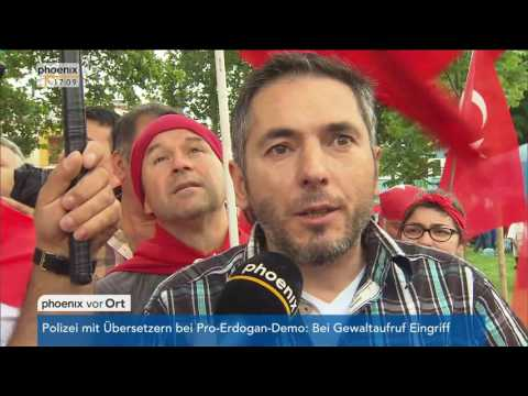 Köln: Erdogan-Demonstration in Köln: Boris Barschow zum ...