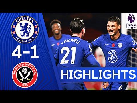 Chelsea 4-1 Sheffield United | Ziyech Stars As Silva Scores 1st Goal! | Premier League Highlights