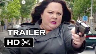 Nonton Spy Official Trailer #1 (2015) - Melissa McCarthy, Rose Byrne Comedy HD Film Subtitle Indonesia Streaming Movie Download