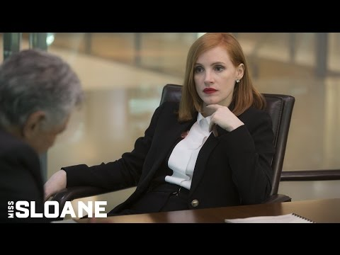Miss Sloane (Clip 'Amateur Lip Reader')