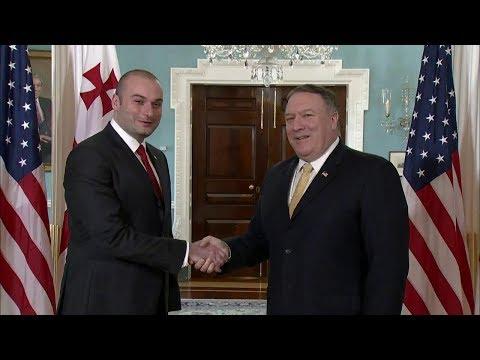 Secretary Pompeo Meets with Georgian Prime Minister Mamuka Bakhtadze