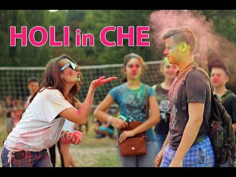 У Черкасах вдруге відбувся індійський фестиваль фарб «Холі»