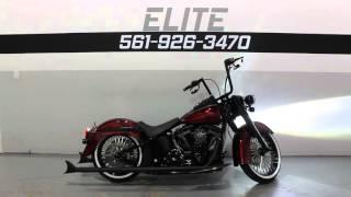 4. 2014 Harley Davidson Softail Deluxe Custom FLSTN * For Sale * SOUTHFLORIDAHARLEYS.COM