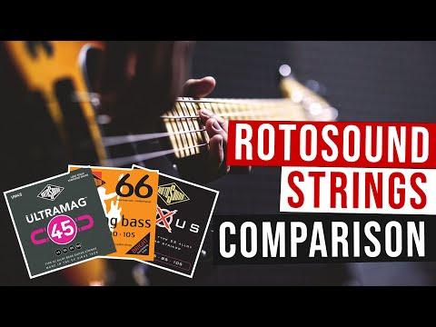 Musicoff ci fa ascoltare Rotosound: le migliori corde per basso!