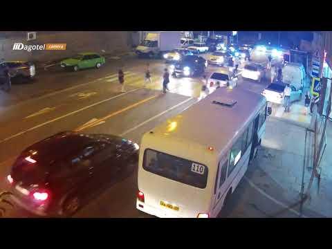 Авария с пешеходом в Дагомысе