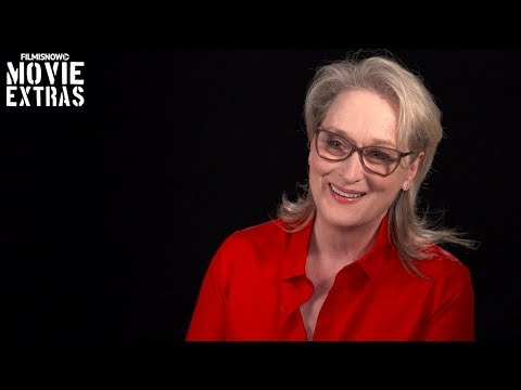 "The Post | On-set visit with Meryl Streep ""Kay Graham"""