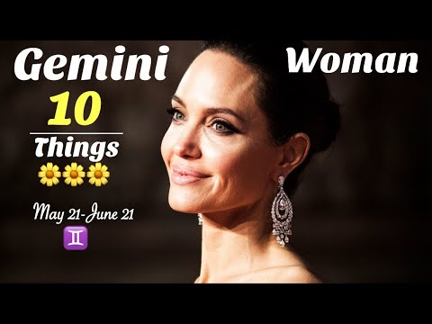 Gemini Woman ♊️ 10 Things to Know!!!!