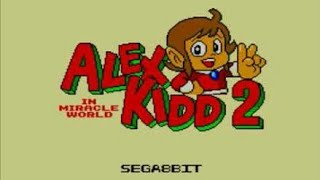 Vamos de jogatina com um grame criado por fãs para Master System, Alex Kidd in Miracle World 2.