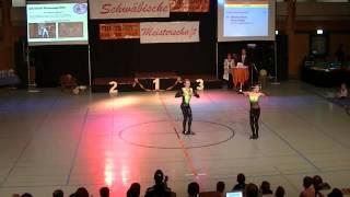 Melanie Hecht & Philipp Preidl - Schwäbische Meisterschaft 2013