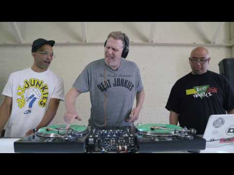 Michael Rapaport visits the Beat Junkie Institute Of Sound