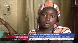 Kiambu Girls' Dreams Hang In The Balance Due To Fees Constraints