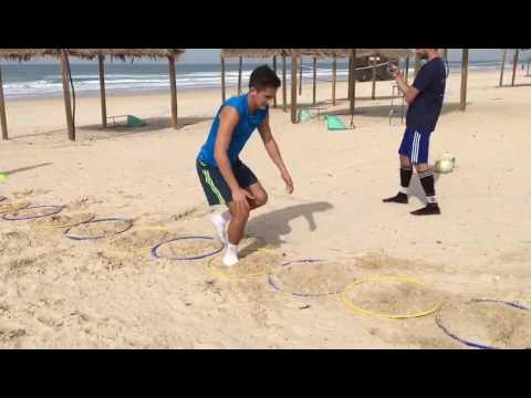 יציבה דינאמית בחול