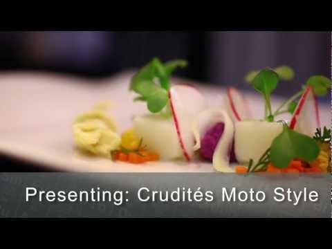 Crudités moto restaurant style