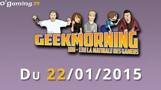 GeekMorning - La matinale du 22/01/2015 avec Omega Zell