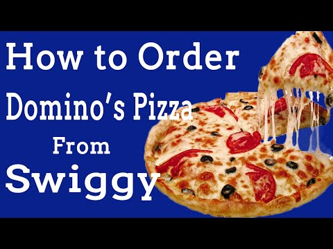 How to Order Pizza Online   Pizza Online Order in Hindi   Domino's Pizza   Home Delivery