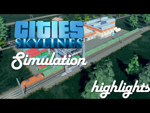 Spennende simulering i Cities Skylines!