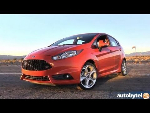 2014 Ford Fiesta ST Walkaround Video Review with Ford SVT Engineer Tim Smith