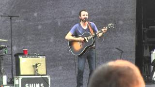 """The Shins- """"New Slang"""" Live (720p HD) at Lollapalooza on August 3, 2012"""