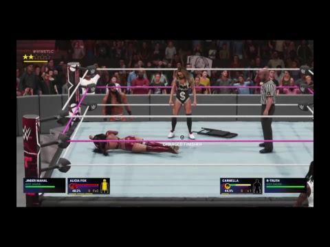 WWE TLC 2018 : Jinder Mahal and Alicia Fox vs Carmella and R-Truth MMC Final 2018
