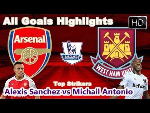 Arsenal vs Westham  | Goal Highlights | Alexis Sanchez vs Michail Antonio