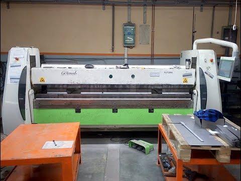 Schwenkbiegemaschine CNC GOTENEDS CIDAN FUTURA 25 2,5X2600 2014